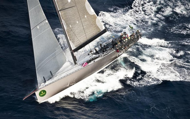 72ft mini maxi yacht Ran Photo Credit: Rolex/Kurt Arrigo