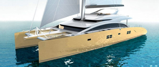 82 Sunreef Double Deck superyacht HOUBARA