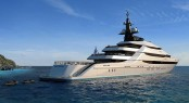 85.6m luxury motor yacht Y708 by Oceanco