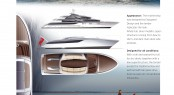 9m Limousine yacht tender for 77.7m megayacht Tango