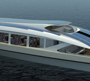 New Zero Emissions Yacht and Shuttle designs by NEDSHIP Group and STR Europe of France