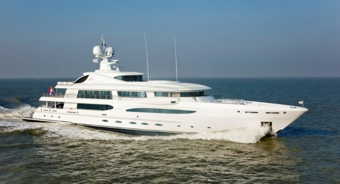 Amels 212 luxury motor yacht IMAGINE