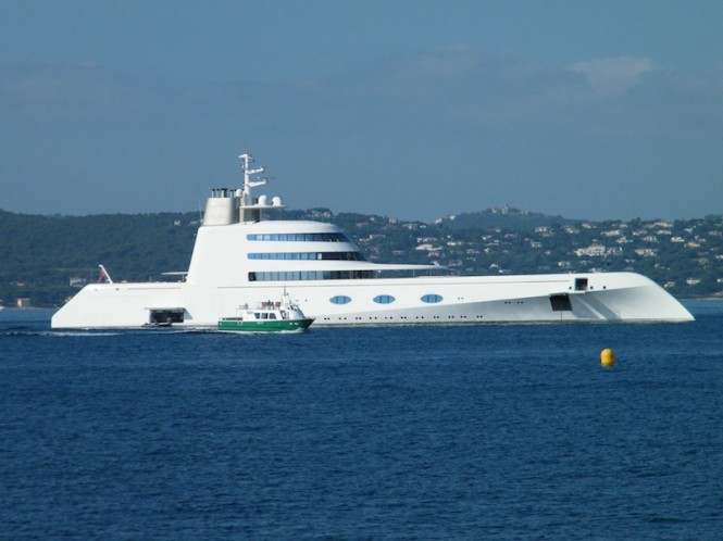 B+V mega yacht A - Photo David Z Hart