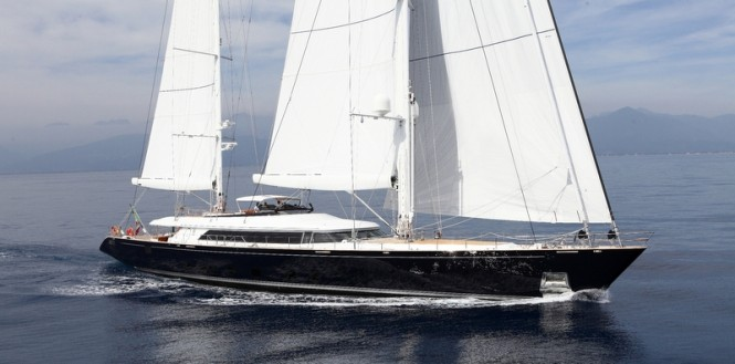 Hull C.2173 sailing yacht Enterprise by Perini Navi
