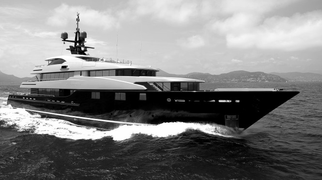 CMN luxury yacht Slipstream