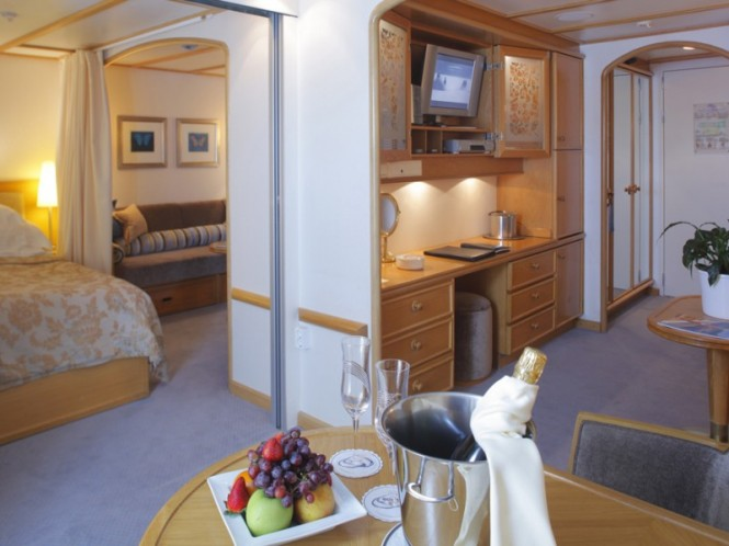 Commodore Suite - Luxury yacht Sea Dream