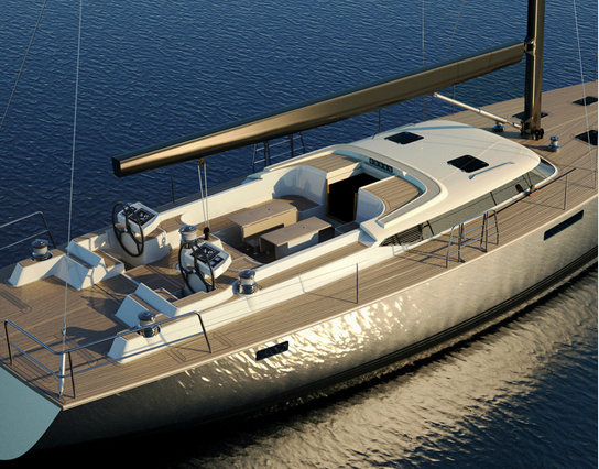Contest 72CS yacht by Contest Yachts