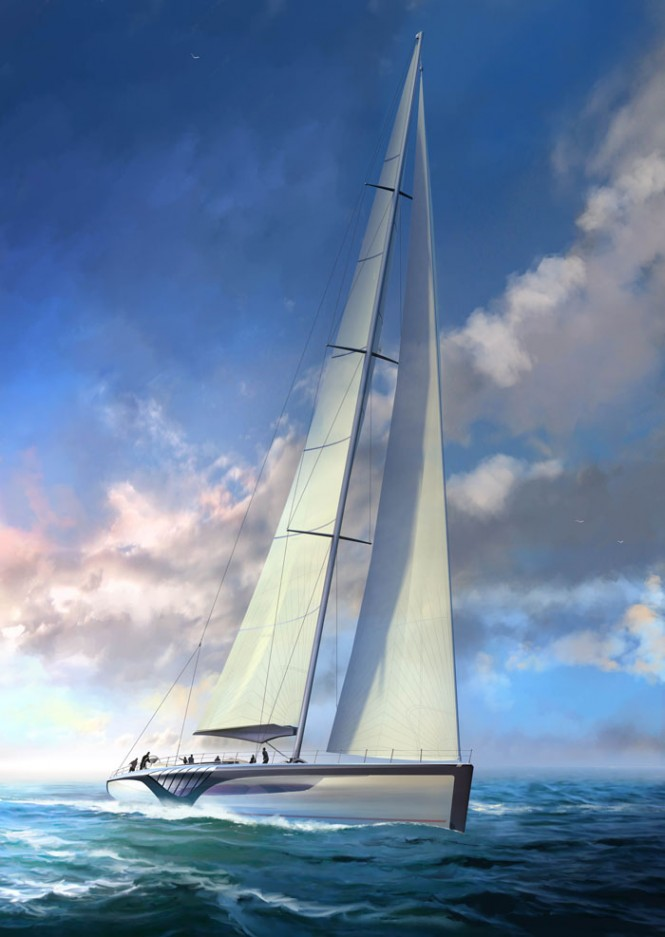EXO superyacht concept