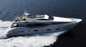 IAG 100 Electra superyacht running