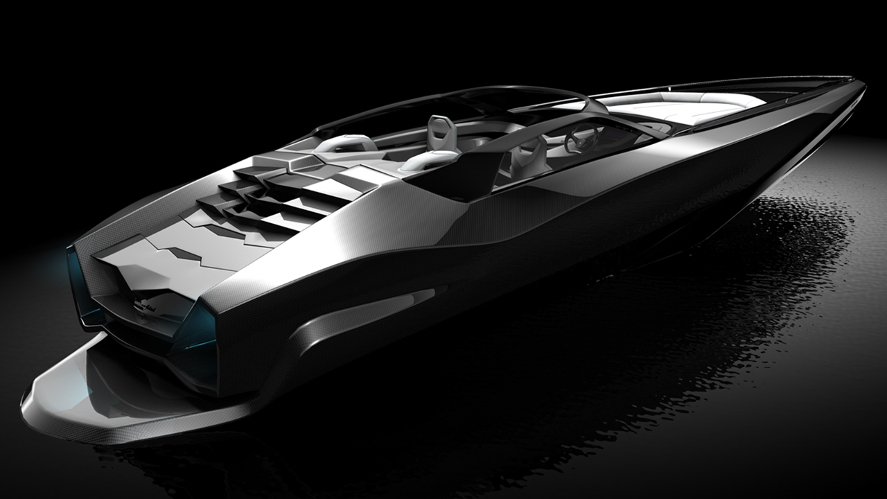 Fusion Yacht Tender Concept By Red Yacht Design Yacht