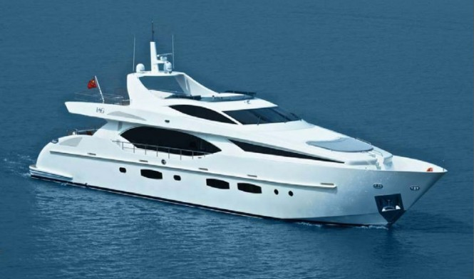 IAG 100 luxury motor yacht ELECTRA