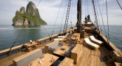 Indonesian charter yacht Silolona available also in Kokomo and Flores