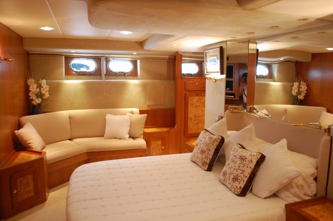 Lady Tatiana of London yacht - Accommodation