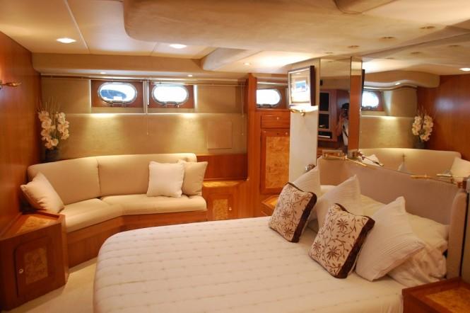Lady Tatiana of London yacht - Accommodation