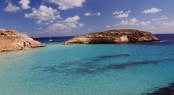 Lampedusa in the Mediterranean