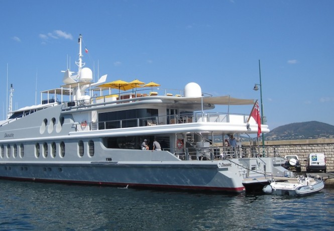 Luxury charter yacht Obsession