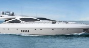 Luxury motor yacht Mangusta 110