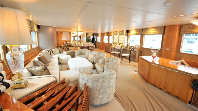 Luxury yacht A2 (ex Masquerade of Sole) - Interior before refit