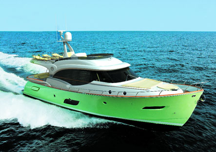 Luxury yacht Dolphin 64 Cruiser