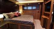 Luxury yacht Electra - Master cabin