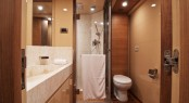 Luxury yacht Electra - VIP cabin&#039;s bathroom