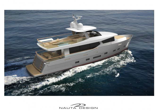 Luxury yacht Nauta Air 80