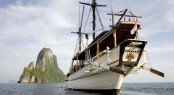 Luxury yacht Silolona available in Indonesia