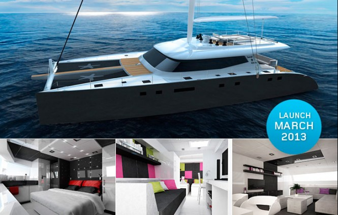 Luxury yacht Sunreef 80 Single Deck