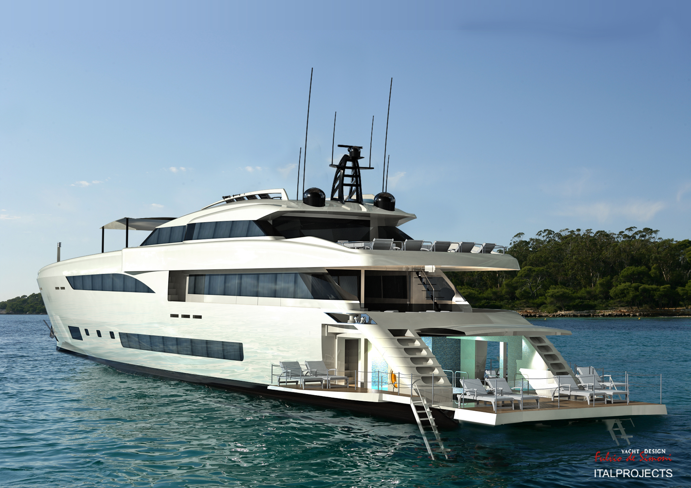 Luxury yacht Wider 150 by Wider Yachts — Yacht Charter ...