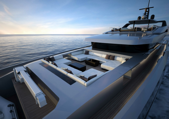 Mondo Marine superyacht M50 project by Hor Lab Yacht & Design