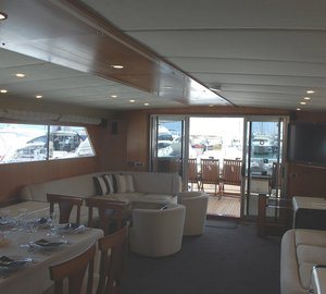 SPAIN YACHT CHARTER: Motor Yacht Lady Tatiana of London offering reduced charter rate