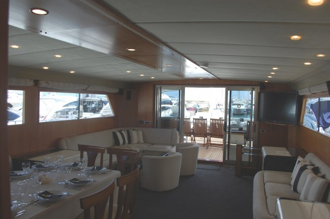Motor Yacht Lady Tatiana of London - Salon