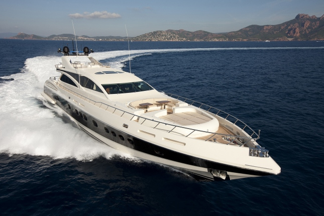 Motor yacht Elsea - an example of Italyachts' 43m superyacht