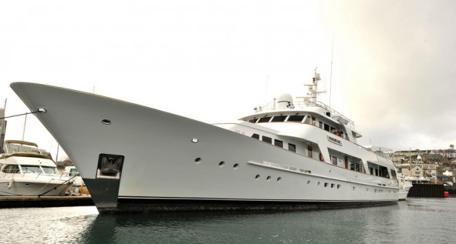 Motor yacht Masquerade of Sole before refit