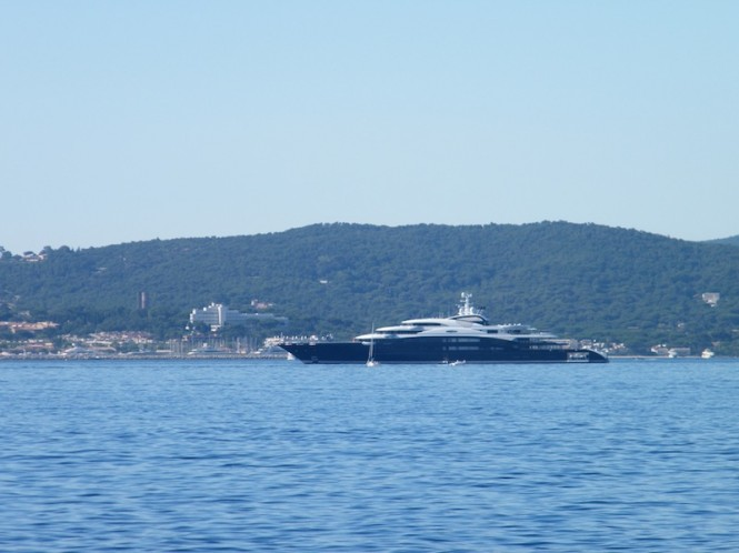 Motor yacht Serene by Fincantieri in the Mediterranean - Image courtesy of Sacha Suzanne Hart