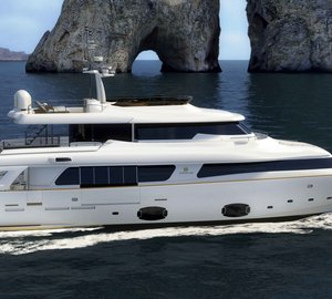 Six superyachts launched by Ferretti Custom Line in 2012