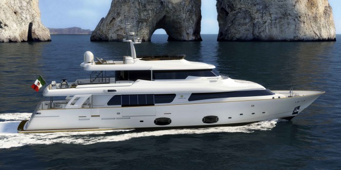 Navetta 33 Crescendo Superyacht by Ferretti Custom Line