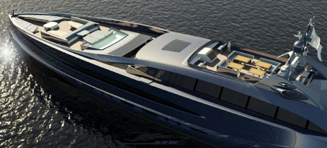 Nedship luxury yacht Sovereign