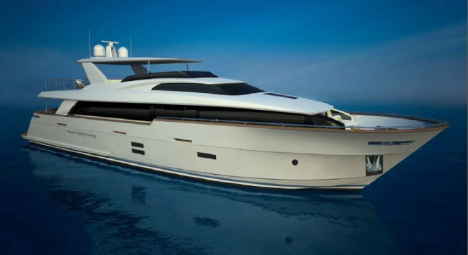 New Hatteras 100 Raised Pilothouse superyacht