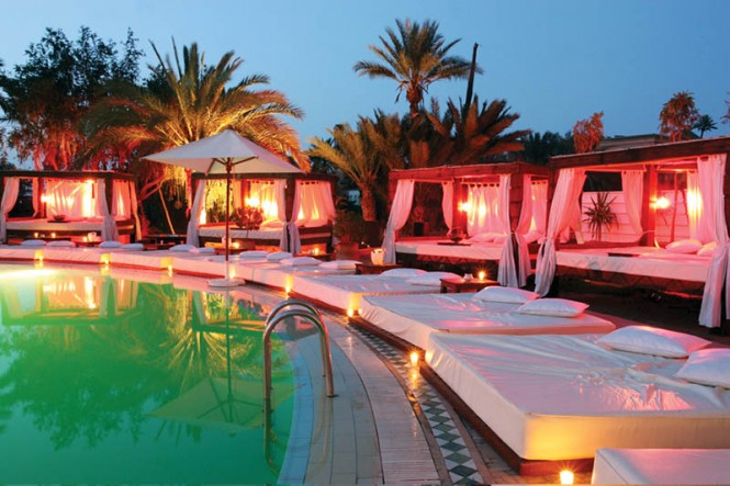 Nikki Beach Marrakech pool