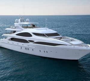 Overmarine luxury yacht Mangusta Oceano 148 for ocean cruising