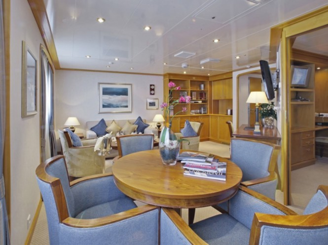 Owner Suite - Luxury mega yacht Sea Dream