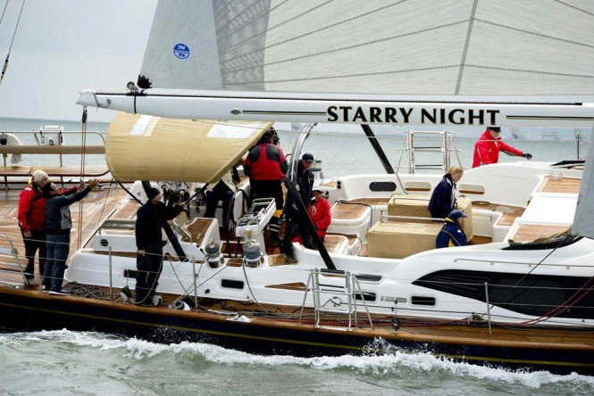 Oyster 82 superyacht Starry Night