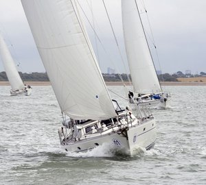 Oyster Regatta – Cowes 2012: Day 3 - The brand new Oyster 575 sailing yacht Isis first in Class 1