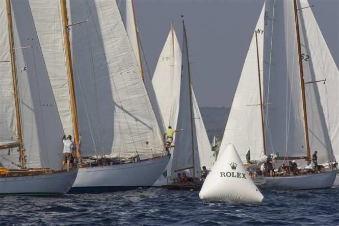 Race start Photo Credit: Rolex/Carlo Borlenghi
