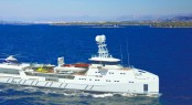 SEA AXE 6711 superyacht support vessel FYS by Amels