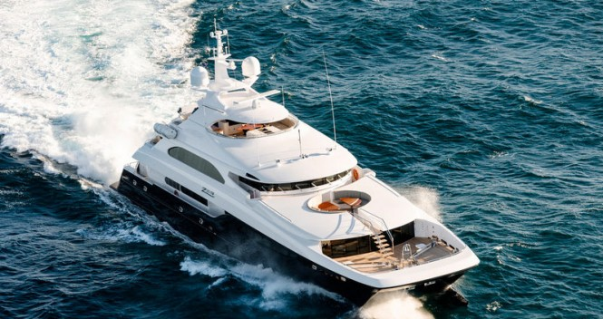 Sabre built 40m catamaran motor yacht Zenith (IC0832) designed by Incat Crowther