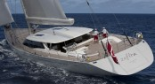Sailing yacht Zefira by Fitzroy Yachts and Dubois