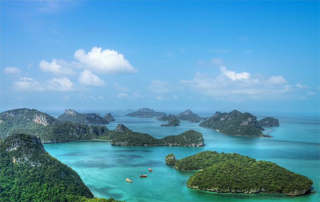 Samui - Angthong Marine National Park