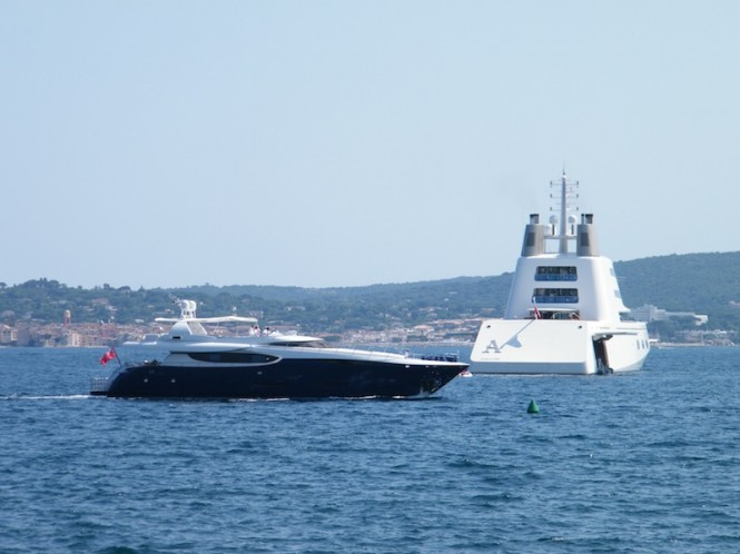 Starck Design mega yacht A - Photo David Z Hart